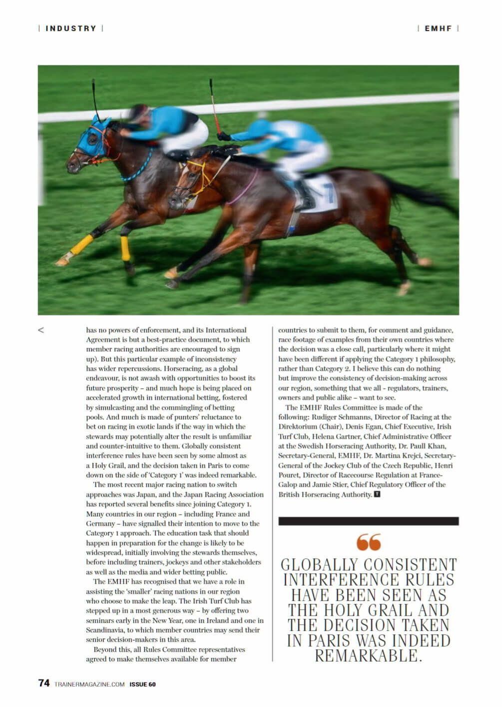 ESIT WHIPCHIP NEWS ON TRAINER MAGAZINE